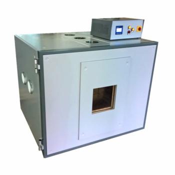 Полимеризатор V=1083 л с технологическими отверстиями и рольгангом